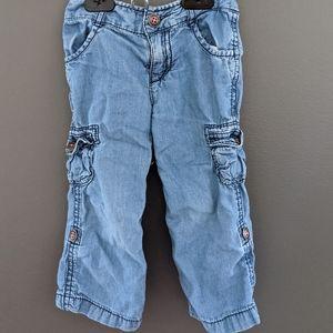Tommy Hilfiger light wash soft denim jeans